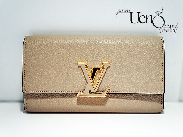 competitive price 73b12 6d978 LOUIS VUITTON ルイ・ヴィトン】ポルトフォイユ・カプシーヌ ...